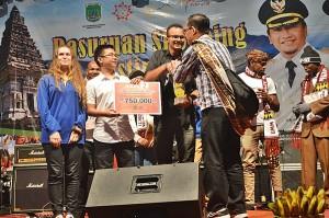 Ali Abdul Raof Juara 2 4th International Student Summit 2015 (1)