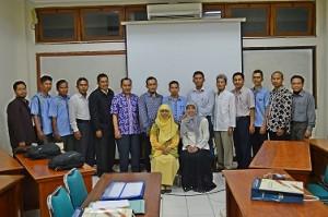 Rencana Rapat kerja FGDT V 2014 di FTI UAD