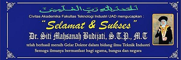 Dr. Siti Mahsanah