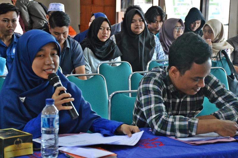 Debat Pasangan Calon Ketua HMTK FTI UAD Periode 2018/2019