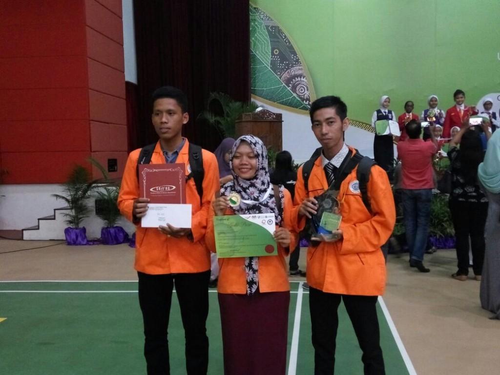 UAD Informatics Student won gold medal