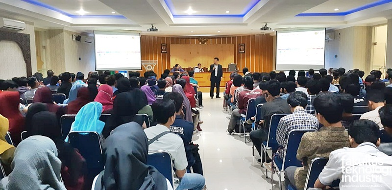 Kuliah Umum Perkembangan Teknologi Wireless Oleh Prof. Ir. Dr. Sharul Kamal Abdul Rahim (Faculty of Electrial Engineering Universiti Teknologi Malaysia)