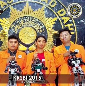 Robot UAD Juara KRI Regional III 2015 (3)