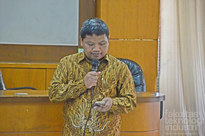 Sidang Senat FTI UAD Penetapan Bakal Calon Sekretaris Program Studi