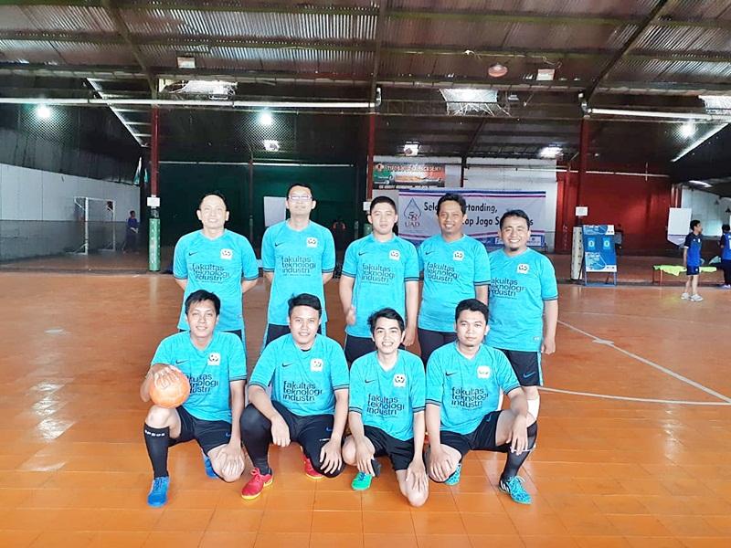 Tim Futsal Dosen & Karyawan FTI UAD