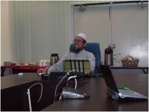 DR. Moh. Syafi'I Abdul Latif selaku Penyearah Akademik Fakulty Komputeran