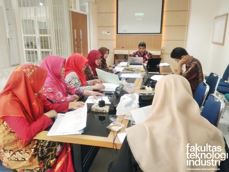Yudisium Kelulusan Mahasiswa Periode 10 April 2019 FTI UAD