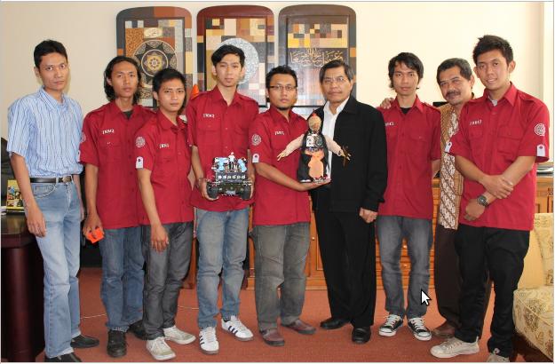 juara 1 dan terfavorit Nasional lomba robot