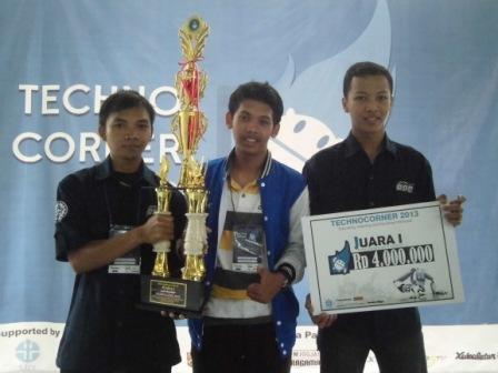 Juara 1 Lomba Technocorner