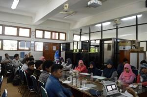 Suasana Workshop Teknik Informatika FTI UAD